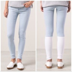 J BRAND STEPPED BACK CATALINA SKINNY JEANS SIZE 25